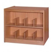 Book Shelving - 2 Shelf Single Faced Adder