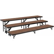 3-Level, Choral Riser Set, Hardboard (24