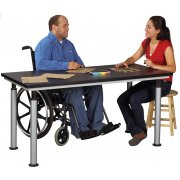 Plastic Laminate Top Adaptable ADA Table (60x42