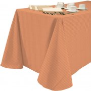 60x120 Tablecloth Tuxedo Stripe