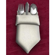 Dinner Napkins 20X20 12-Pack Dark Spun Polyester