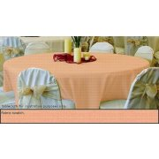 90in Round Tablecloth Woven Polyester
