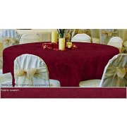 90in Round Tablecloth Damask