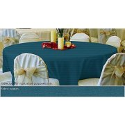 90in Round Tablecloth Dark Spun Polyester
