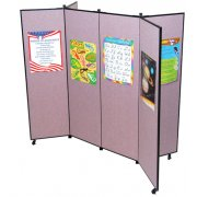 Portable Art Display Panels - 6 Panels (5'9