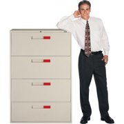 4-Drawer Lateral File Cabinet