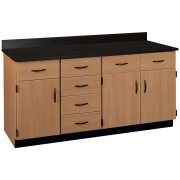 Lab Wall Work Counter (Laminate Top)