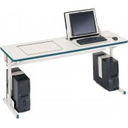 SmartDeck Computer Table For 2 Computers (72