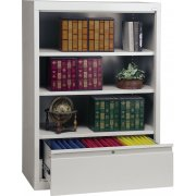 Bookcase with File Drawer (52