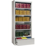 Bookcase with File Drawer (84