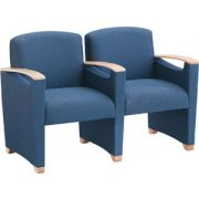 Somerset Seating - Center Arms (2 Seater)