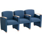 Somerset Seating - Center Arms (3 Seater)