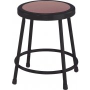 NPS Metal Lab Stool - Black Frame (18