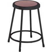 NPS Metal Lab Stool - Black Frame (24