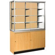 Panel-Back Wall Display Case (48