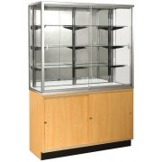 Mirror-Back Wall Display Case (48