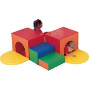 Indoor Corner Soft Play Tunnel Climber