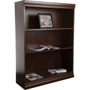 Wood Veneer Bookcase Standard Shelves (3'Wx5'H)