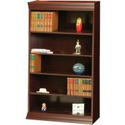 Wood Veneer Bookcase Excalibur Shelves (3'Wx6'H)