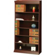 Wood Veneer Bookcase Standard Shelves (3'Wx7'H)