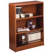 Radius-Edge Laminate Bookcase (32