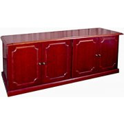 Veneer Executive Low-Wall Cabinet
