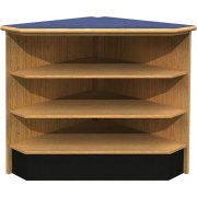Ultima 90 Degree Open Shelf Corner Unit