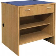 Ultima Single Drawer Open Shelf