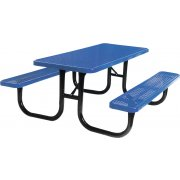 8' Extra Heavy Duty Diamond Cut Picnic Table