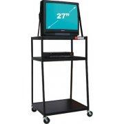 Wide Body AV Cart for 27-inch Monitor