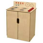 WD Tip-Me-Not Wooden Play Kitchen Stove