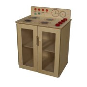 My Cottage Wooden Play Kitchen Stove