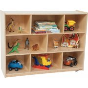Healthy Kids Eco-Friendly Mobile Cubby Storage (30