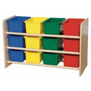 See-All Storage Stand with Asst Trays