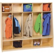 Healthy Kids 5 Section Seat Locker