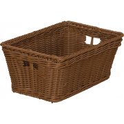 Small Plastic Wicker Preschool Storage Baskets