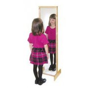 Freestanding Tilt Classroom Play Mirror