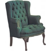 Traditional Fabric Guest Chair