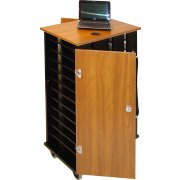 24-Unit Netbook Storage Cart