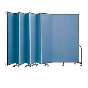 WALLmount Movable Wall - 9 Panels (8'H x 16'6