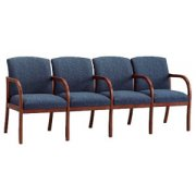 Weston 4-Seat Sofa with Center Arms - Grd 3 Fabric
