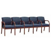 Weston 5-Seat Sofa with Center Arms - Grd 3 Fabric