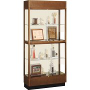 Hard Wood 2 Tier Trophy Cabinet (36