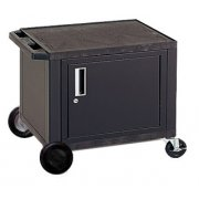 Tuffy Cart with Cabinet and 8in Wheels (24.5