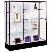 Colossus Floor Display Case w/ Plaque Fabric (60