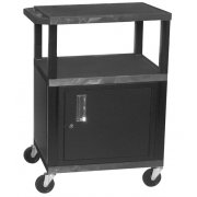 Tuffy Cart with Cabinet and Electric (34