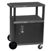 Tuffy Cart with Cabinet with Electric and 8in Wheels (34