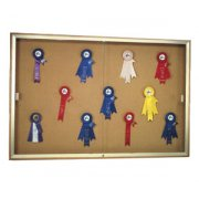 Wall Mounted Display Case with Cork (48