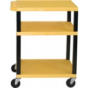 Open Shelf Colored Tuffy Cart with Electric (34