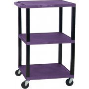 Open Shelf Colored Tuffy Cart (42